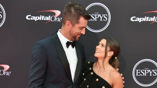 Aaron Rodgers on relationship with Danica Patrick: 'We're really attracted to each other'