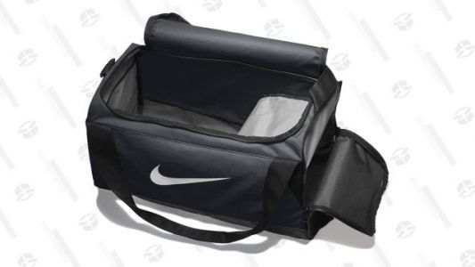 Pack For the Gym, Or For the Weekend With These Discounted Nike Duffel Bags