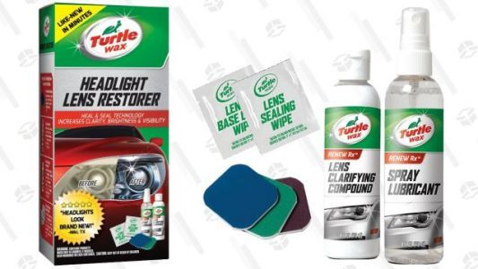 Clear Up Your Foggy Headlights For Just $6