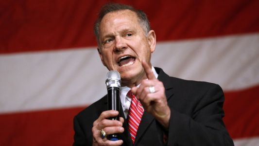 Roy Moore Campaign Casts Alabama Race As Referendum On Trump