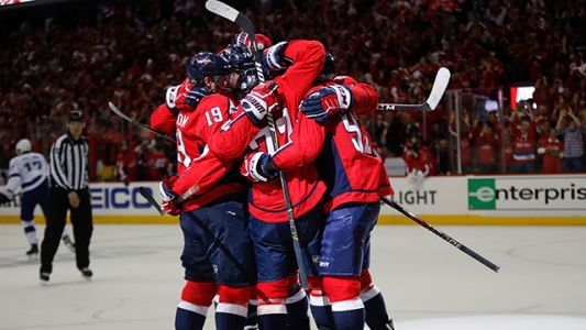 Capitals rough up Lightning to force Game 7 in East final