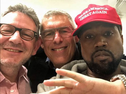 Kanye West posted a photo of himself with a 'Make America Great Again' hat and everyone is freaking out