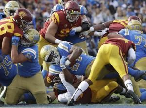 Kelley rushes for 289 yards, leads UCLA past USC 34-27