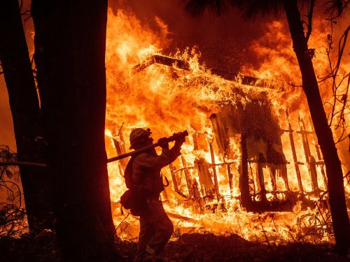 The California power outages show how dire the wildfire crisis has gotten - 9 of the state's 10 biggest fires came in the last 16 years