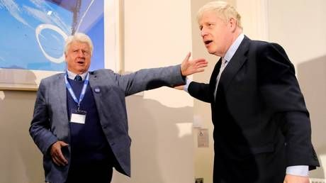 BoJo's father sparks outrage after reports of him breaking Covid-19 rules and flying to his Greek villa on 'essential business'