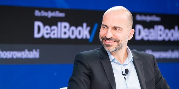 Uber's CEO says 'the most needy' furloughed government workers are starting to drive for the company, but that this isn't how it wants to recruit