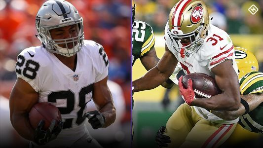 Fantasy Football Waiver Wire Week 8: Injuries to Marshawn Lynch, Matt Breida make Doug Martin, Raheem Mostert key free agent pickups