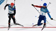 French Biathlete Clinches Gold In One Nail-Biter Of A Finish