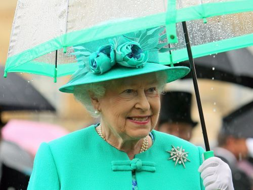 The queen has matching umbrellas for every one of her outfits - and you probably never noticed