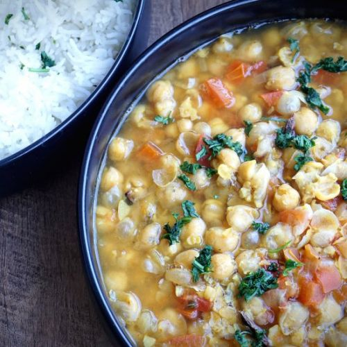 Instant Pot Chickpea Curry Recipe
