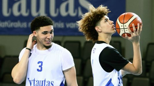 Watch live stream of LaMelo, LiAngelo Ball in Lithuania for Big Baller Brand Challenge