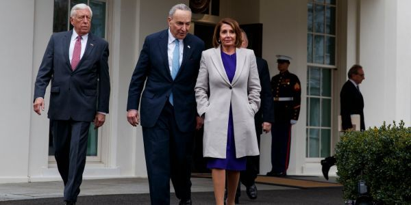 'Impeachment is going to be inevitable': More Democrats push for impeachment as Nancy Pelosi accuses Trump of 'engaging in a cover-up'