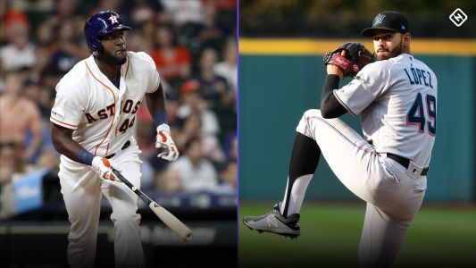 Week 12 Fantasy Baseball Waiver Pickups: Yordan Alvarez, Pablo Lopez gaining traction