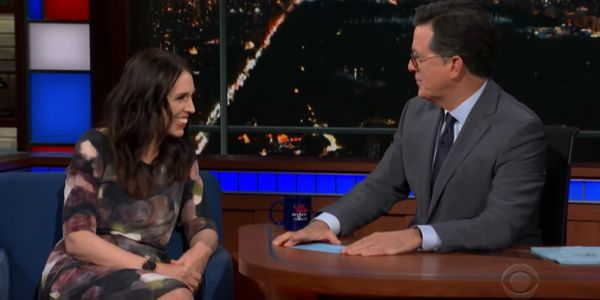 New Zealand Prime Minister Jacinda Ardern tells Stephen Colbert about Trump's laughter-inducing UN speech and her failed 'Lord of the Rings' audition