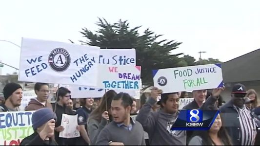 MLK remembered in Seaside, Santa Cruz
