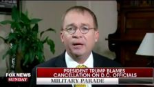 Mick Mulvaney Suggests Military Parade Canceled For Reasons Besides Money