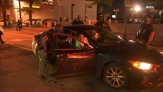 Atlanta police officers fired after 2 people are tased, pulled from car during protests