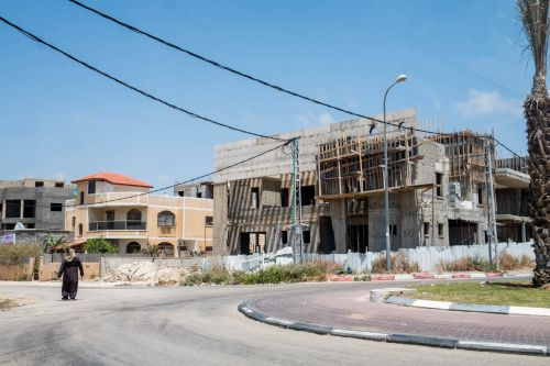 A walk through Israel's poorest village made it very clear that one of the country's biggest issues is one no one talks about