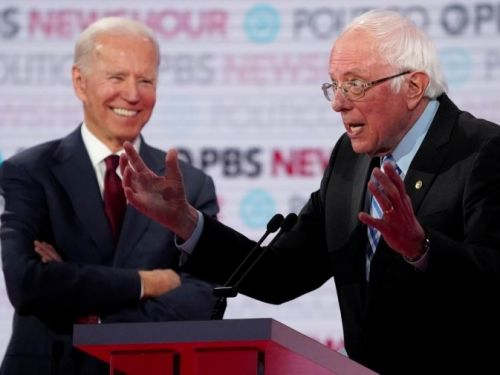 Joe Biden is going to coast unless Elizabeth Warren or Bernie Sanders lock down the left