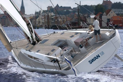 Swan 58 Designed by German Frers Bought by Japan-Based Owner