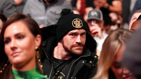 UFC 246: Tyson Fury arrives in Las Vegas to support Conor McGregor