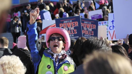 On Anniversary of Women's March, A Las Vegas Rally With A Tighter Focus: The Midterms