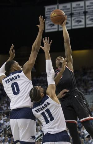 Martin leads No. 6 Nevada to 74-68 win over Fresno State