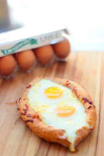 Egg and Cheese-Filled Bread