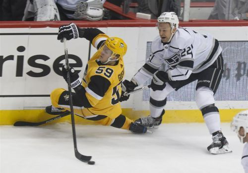 Bryan Rust's 3 goals help secure Penguins win against LA Kings