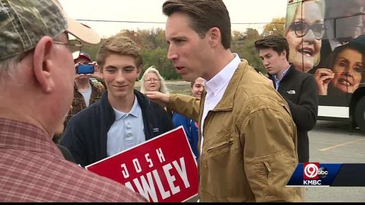 Josh Hawley at odds with President Trump on birthright citizenship