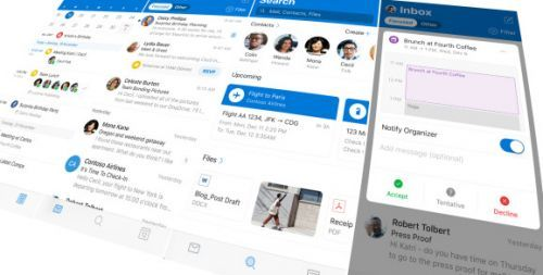 Microsoft refreshes Outlook for iOS with new UI and app icon