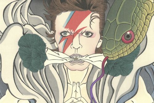 Iconic David Bowie Portraits Transformed Into Ukiyo-e Artworks