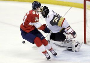 Ekblad's OT goal lifts Panthers over Golden Knights 4-3