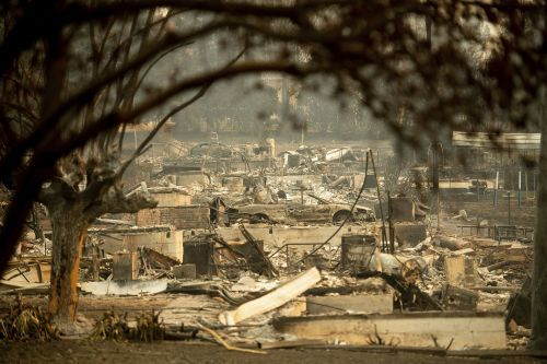 At least 42 dead in Northern California wildfire, making it deadliest wildfire in state history