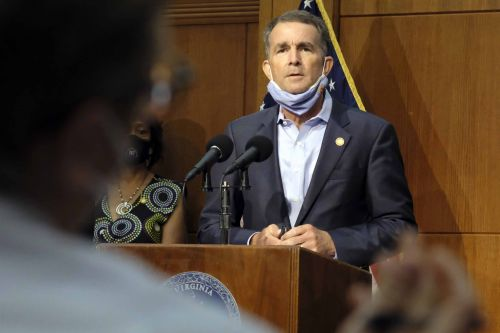 Virginia governor and first lady test positive for coronavirus