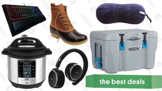 Thursday's Best Deals: Instant Pot Max, Chemical Guys, Tempur-Pedic, and More