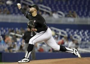 Lopez, Marlins team on 1-hitter, hand Mets 4th loss in row