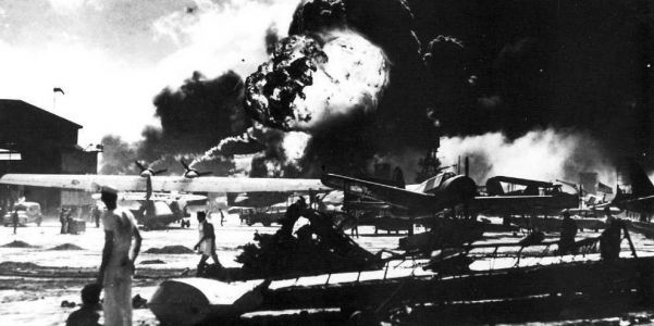 Unforgettable photos from the Japanese attack on Pearl Harbor, 76 years ago today