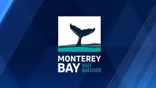 Monterey Bay Half Marathon winners cross the finish line