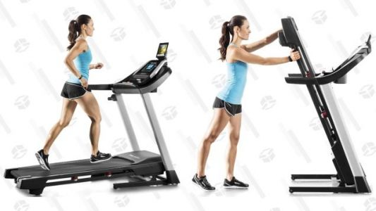 Work On Your Fitness In 2019 With This Feature-Packed, $500 Treadmill