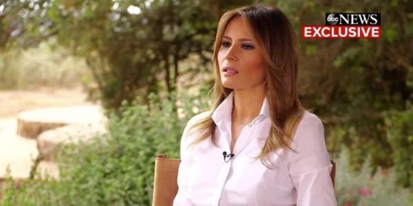 Melania Trump says she may be the 'most bullied person in the world'