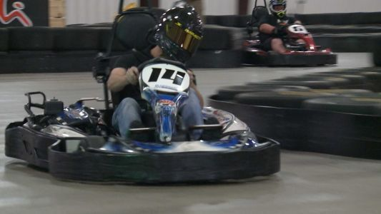 Local NASCAR driver turns laps in Louisville before hitting Kentucky Speedway