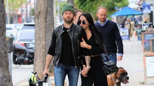 Nikki Bella and Artem Chigvintsev Hold Hands and Share a Smooch While on a Walk in Studio City