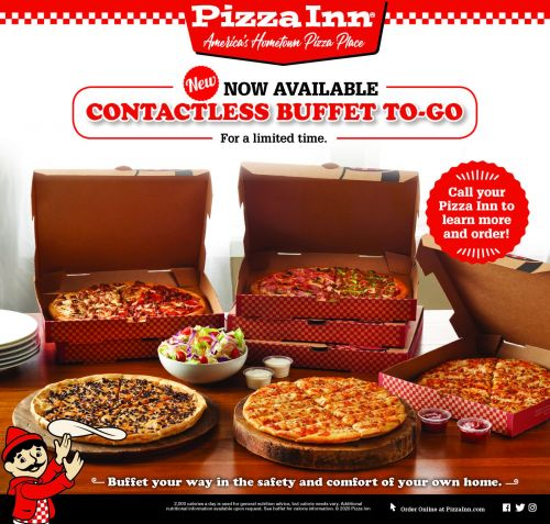 Pizza Inn's Sales Soar with New Contactless Buffet To Go Option