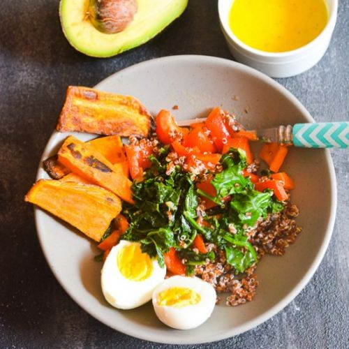 Healthy Quinoa & Veggie Bowl