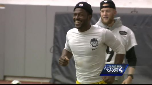 Antonio Brown is active for the Steelers-Jaguars playoff game