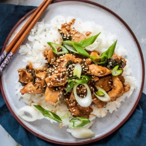 Teriyaki Chicken with Jasmine Rice