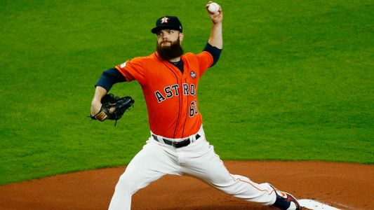 MLB hot stove: Padres interested in pitcher Dallas Keuchel, report says