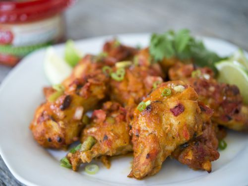 Spicy Salsa Chicken Wings