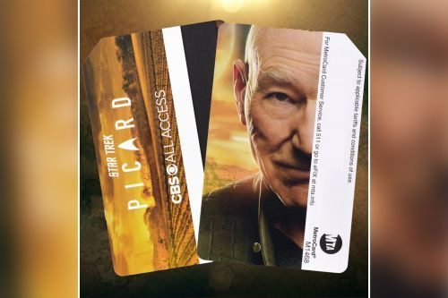 Here's where to get 'Star Trek: Picard' MetroCards featuring Patrick Stewart